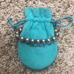 Authentic Tiffany & Co. ball beaded bracelet
